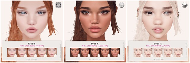 Bossie. miki eyebrows