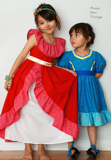 Elena and Isabel inspired dresses | by pennysewvintage