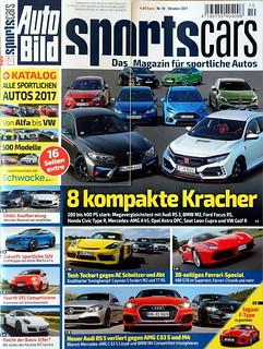 Auto Bild Sportscars 10/2017