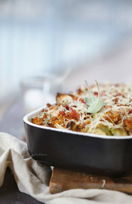 baked pasta w/ butternut squash