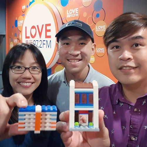 What an eye- (and ear-) opening experience to see top #radio DJs work their magic on air! Had a great time sharing my creative process as a brick artist in a live #interview with @kennethjianwen and Bukoh Mary. Thank you @love972fm for having me! Hope you | by www.artisanbricks.com