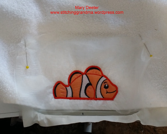 clownfish - ready tocome off the hoop