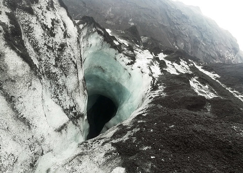 solheimajokull-crevasse | by quirkytravelguy