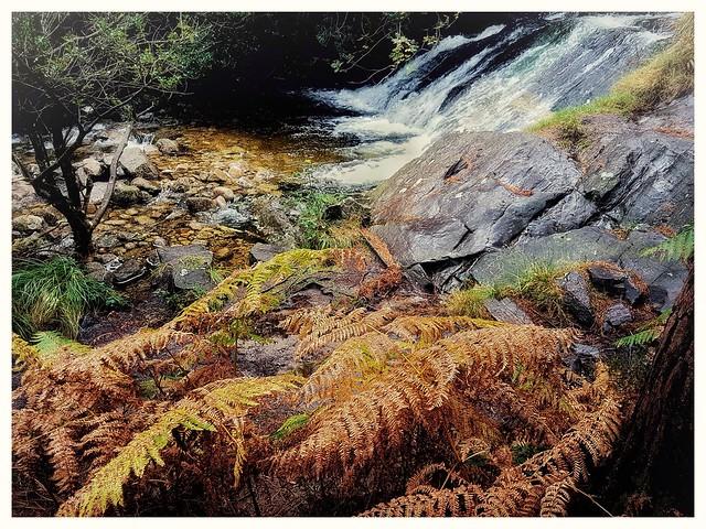 A mountain river on the flank of Sliabh Donard.