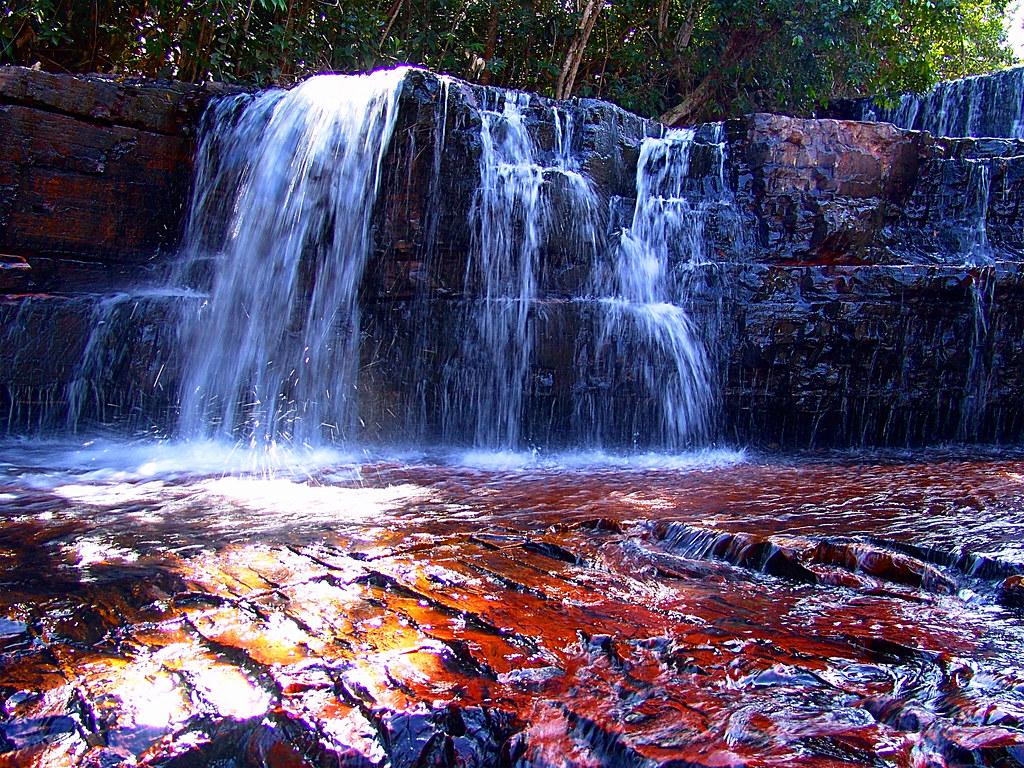 Elo2240 Fotomural Hogar Paisaje Cascada Gran Sabana Flickr