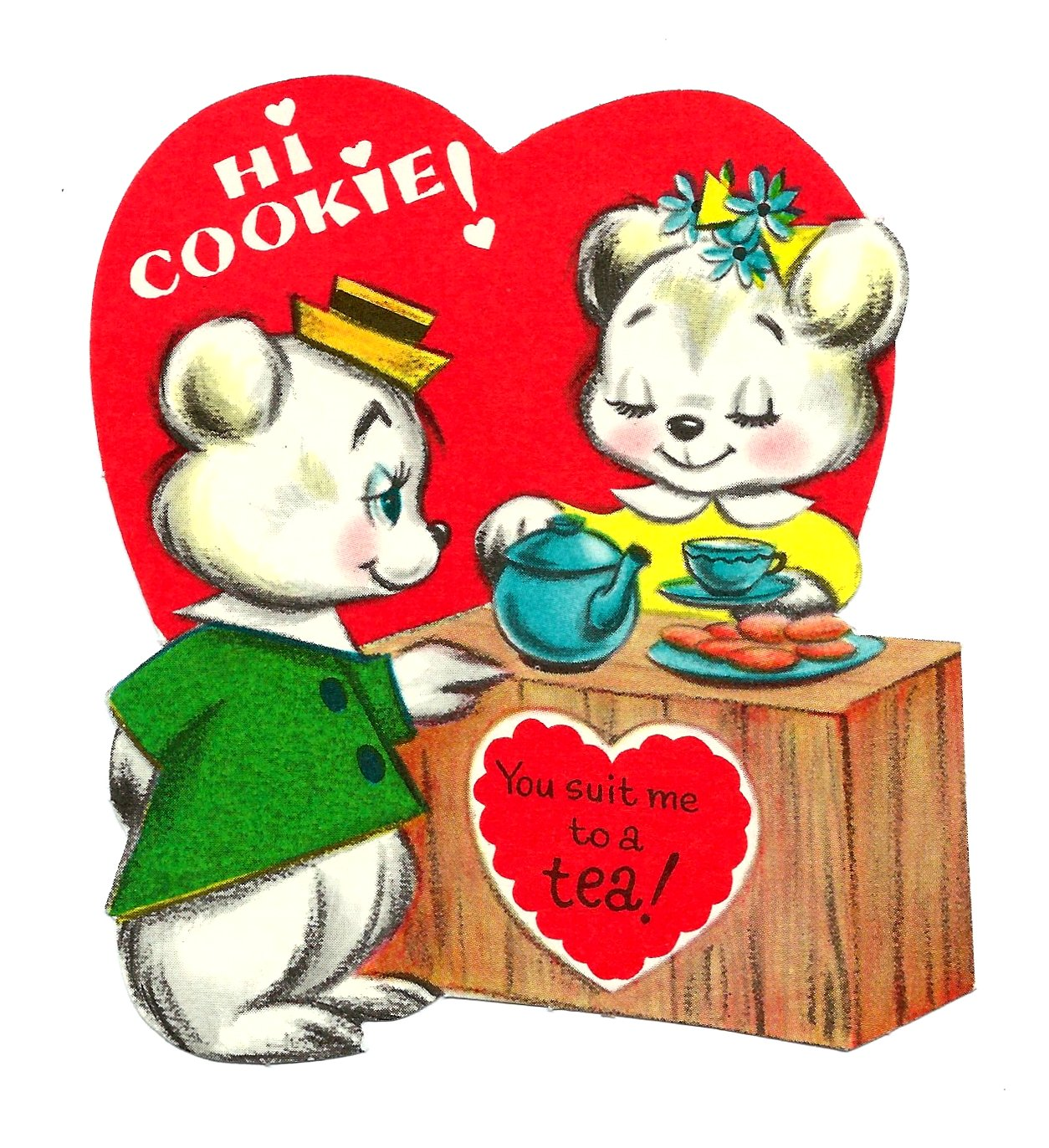 Valentine's Day card - 1950's