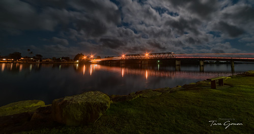 night bridge macksville nsw longexposure nikond750 samyang14mm taragowen photographybytaragowen