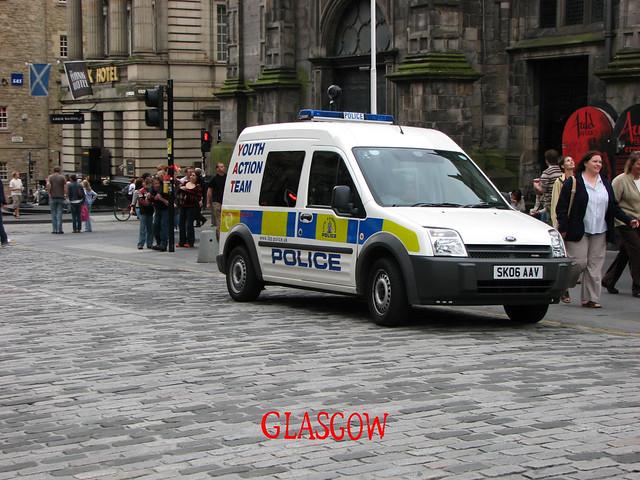 Auto police Écosse