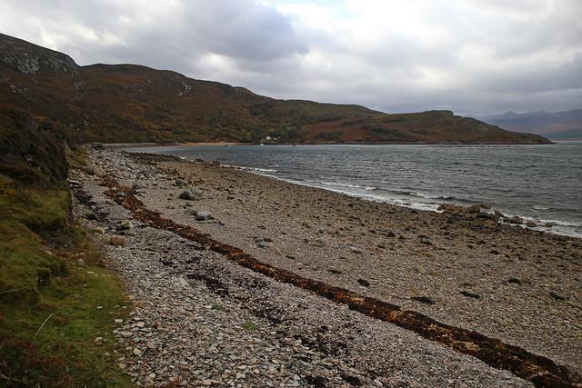 The beach at Camas an Duin