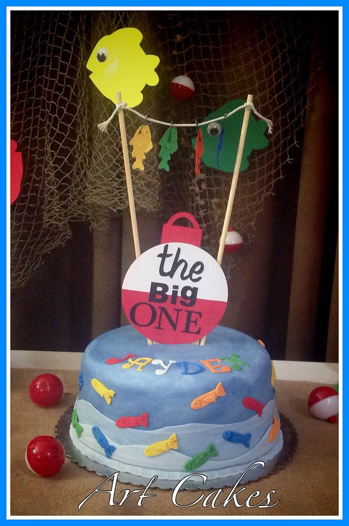 Pleasant The Big One Birthday Cake Nora Rexach Flickr Personalised Birthday Cards Veneteletsinfo