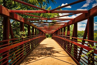 Town Lake Trail Bridge, Austin TX | by sbmeaper1