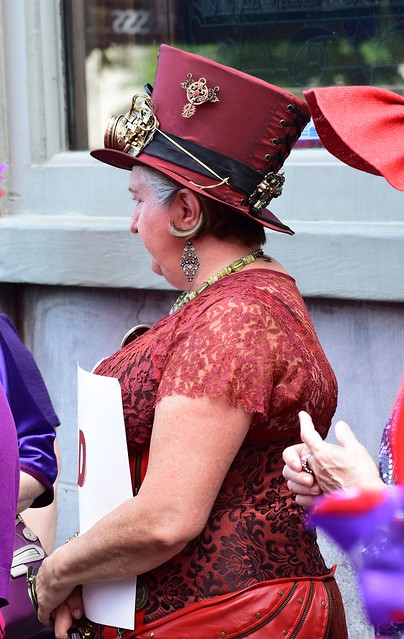 Red Hat Society Steam Punk