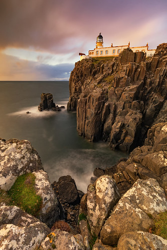 skye neistpointlighthouse neistpoint scotland sunset melvinnicholsonphotography lighthouse longexposure canon5dmk4 gitzo manfrotto nisi nisifilters