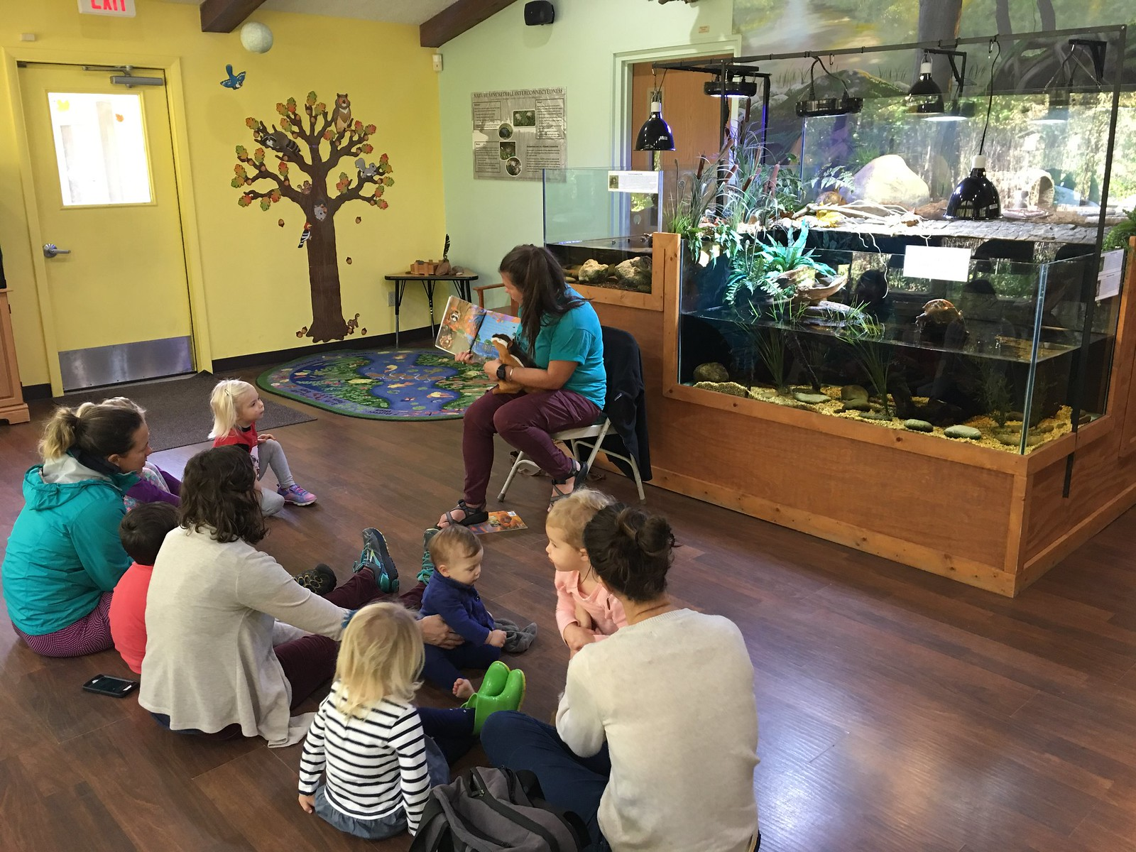 Harris Nature Center Continues Chipmunk Story Time For Kids Virtually