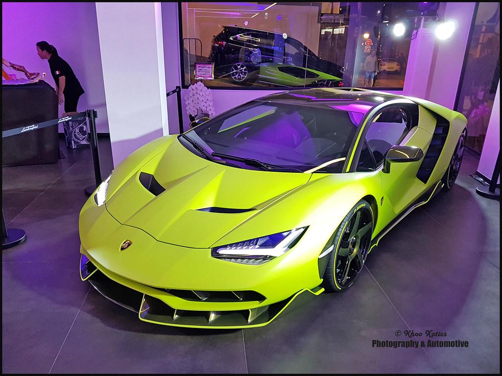 Matte Verde Lamborghini Centenario In Hk Khoo Xotics Flickr
