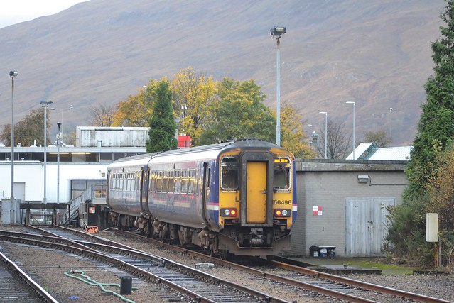 156496; Fort William Station Sidings; 26-10-2017