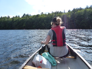 Bon Echo Provincial Park - canoe | by Brown Bear Travels