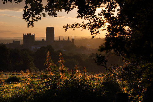 durham cathedral england midsummer sunrise magicmoments britain church unesco worldheritagesite