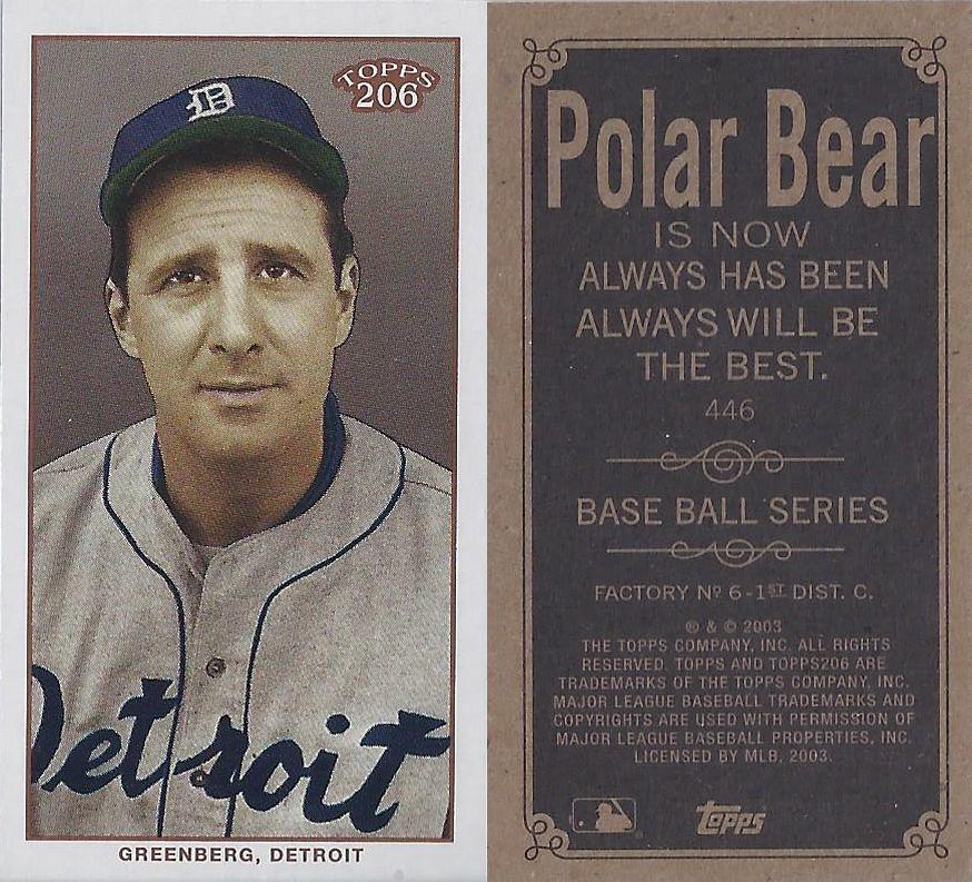 2002 Topps 206 Mini Baseball Card Series 3 Polar Bear Flickr