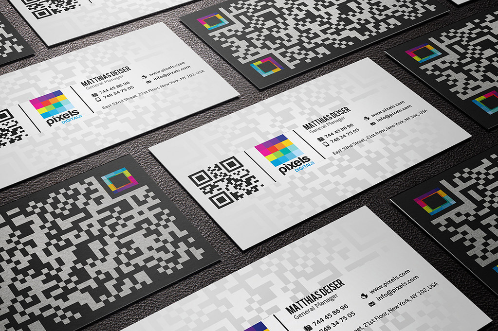 Qr Code Business Card | DOWNLOAD THE TEMPLATE HERE: creative