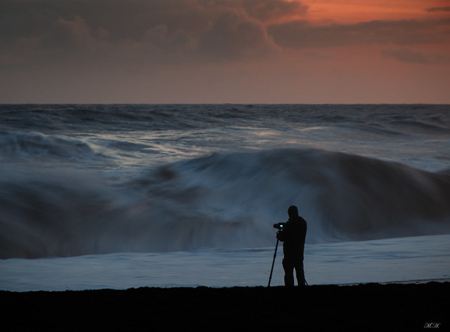Il fotografo sull'oceano