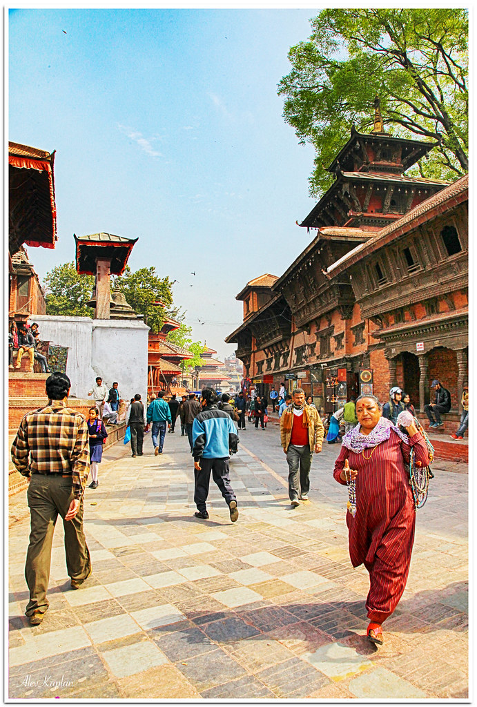 30-Nepal-Katmandu Durbar meydanı