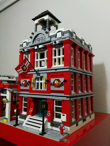 lego fire station moc 02/10/2017