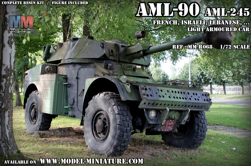 AML-90 1/72 scale | available at : www model-miniature com/p