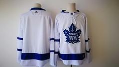 Men's Toronto Maple Leafs Blank White 2017-2018 Hockey Stitched NHL Jersey