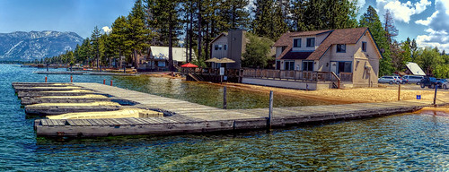 camprichardsonresort camprichardson duplex boatdock pier private southlaketahoe alpine lake pinetrees mountain houses parkinglot joelach inyonationalforest sierranevada california eldoradocounty