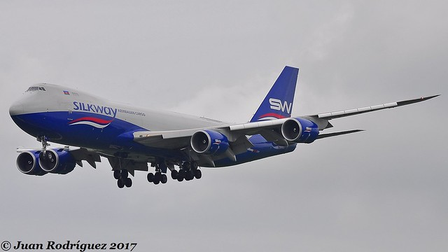 VQ-BBH - Silk Way West Airlines - Boeing 747-83QF  - AMS/AHAM