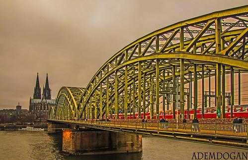 köln city travel holiday colors bridge nrw deutschland germany almanya landscape cologne dom cathedral kölnerdom