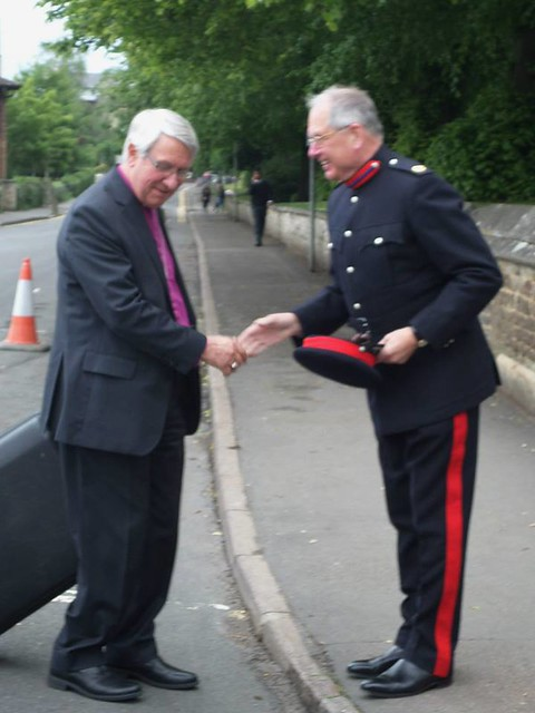 Bishop Of Leicester and Peter Lawson Freedom of Entry to Oakham to  E (Leicestershire And Derbyshire Yeomanry) Squadron