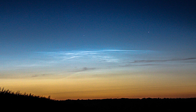 Noctilucent Clouds from Oxfordshire 05/07/15