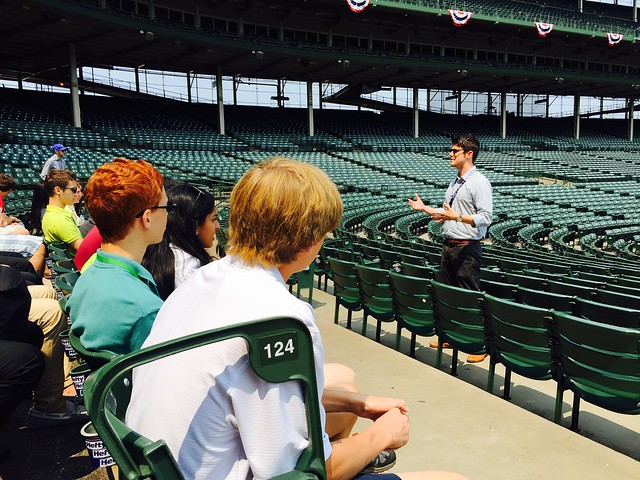NSLC Business: Wrigley Field Tour