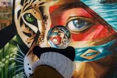 Eyes | Kaunas Street Art | #GlassBallProject #10/365