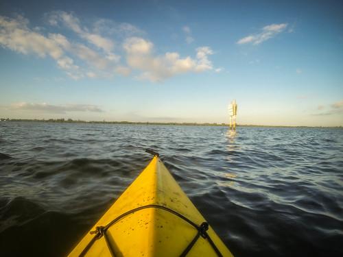 florida fortpierce indianriver indrio kayaking paddling sunrise unitedstates us