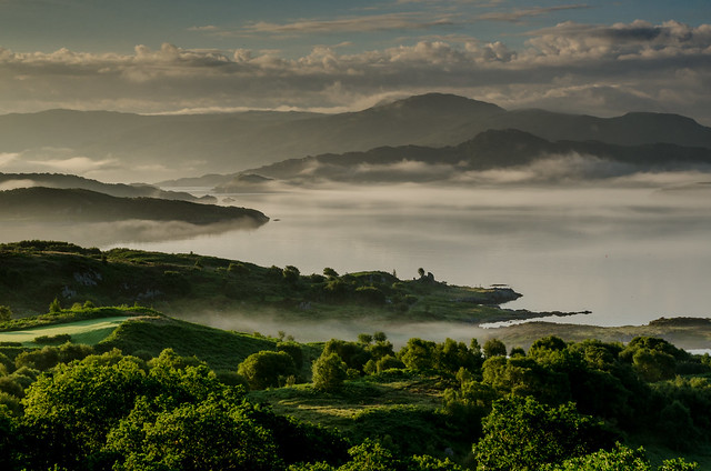 Mist Over Loch Sunart
