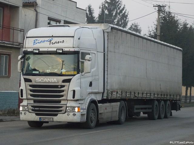 Scania R420 Topline Bianco Trans (SK)