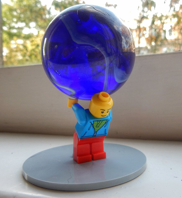 When Atlas was a minifig