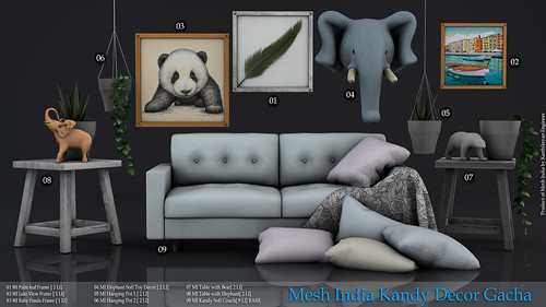 Mesh India Kandy Decor  Gacha | by MADRAS Decor