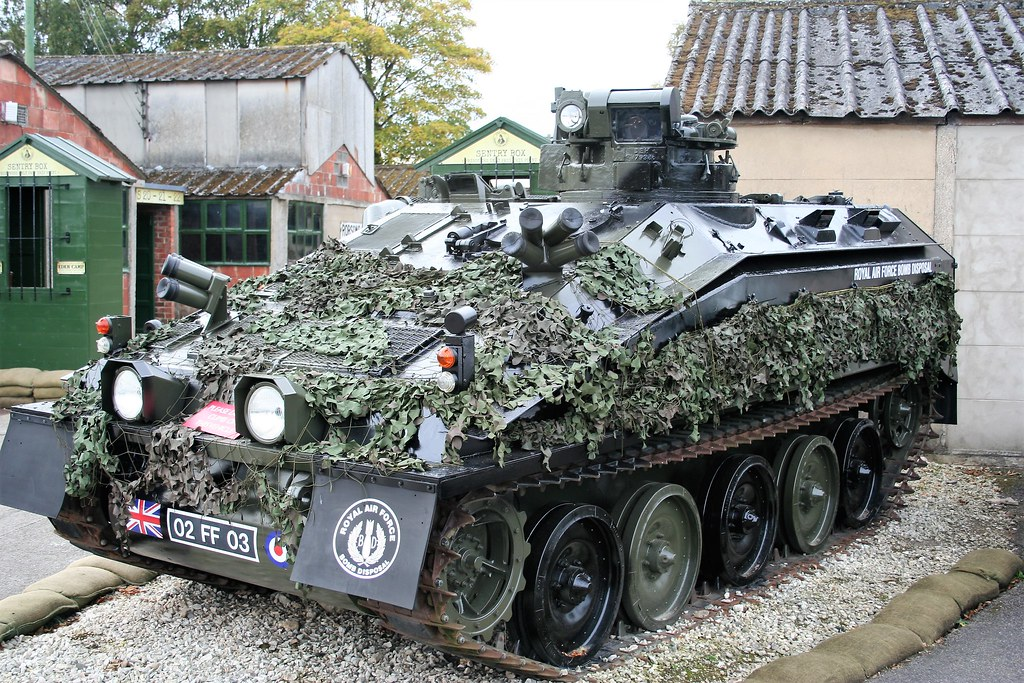 02 FF 03 FV103 Spartan APC | Tracked Armoured Personnel Carr… | Flickr