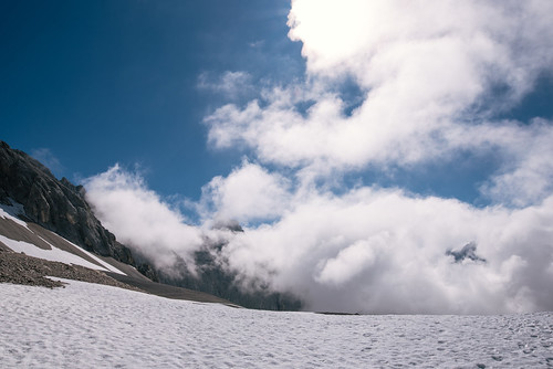 Snow fields in the summer | by knipslog.de