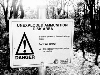 Unexploded Ammunition Risk Area | by aushiker