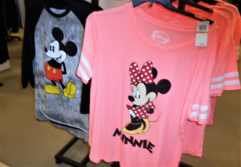 9a50fb041 ... Classic Mickey is back on T shirts as well as Minnie Mouse at Macy's at  Northgate