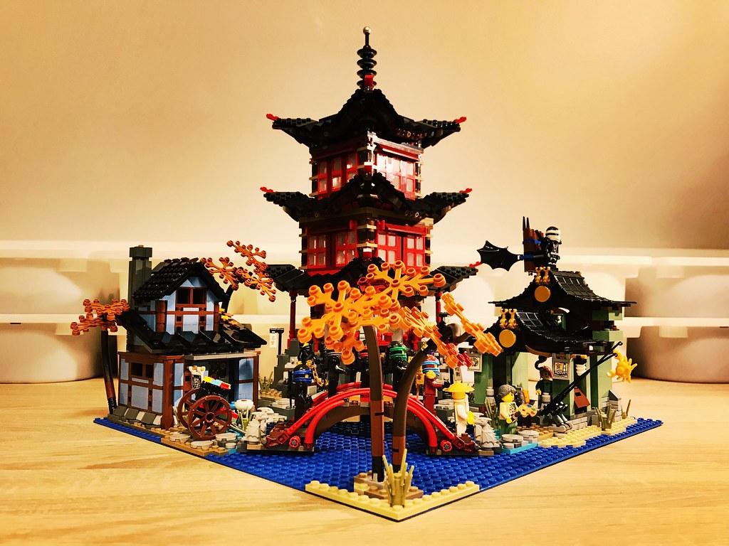 Lego Ninjago Temple Of Airjitzu Moc Wip Gabor Kovacs Flickr