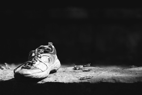 A Shoe Left Behind   by ChristianRock