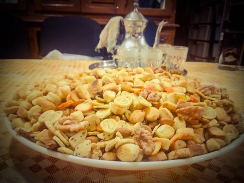 Moroccan salty snacks