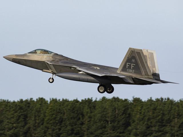 United States Air Force | Lockheed Martin F-22A Raptor | 09-4182