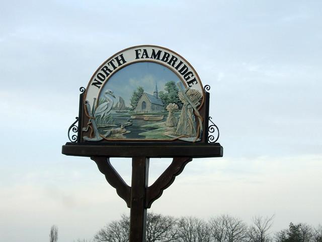 North Fambridge village sign